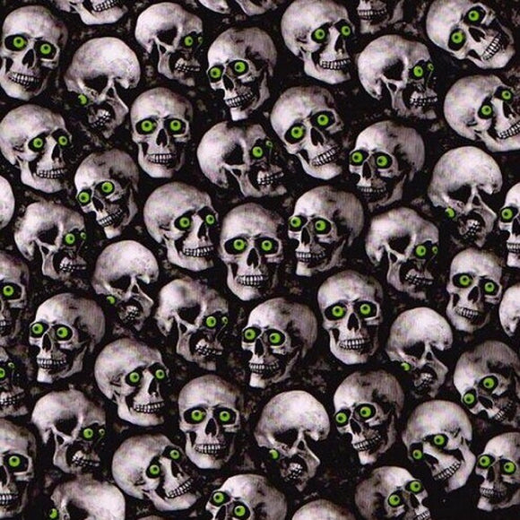 Green Eyed Mini Skulls