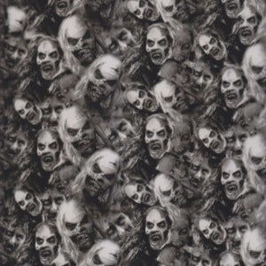 Zombie Faces Of Death