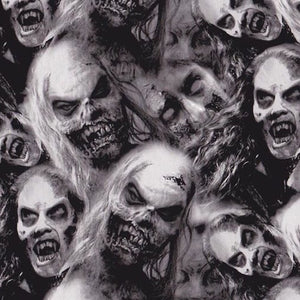 Large Zombie Faces of Death