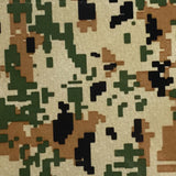 Brown & Green Digital Camo