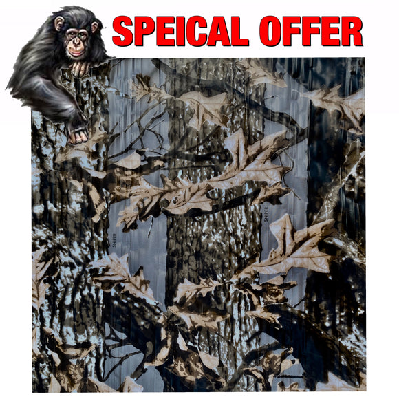 SNIPER CAMO Hydrographic film SPECIAL BUY .99 Cents