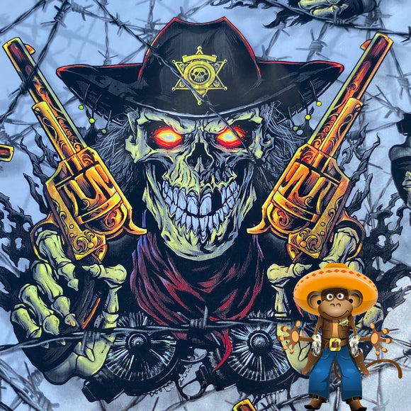 Sheriff death skulls   hydrographic film