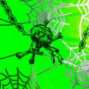 Web Skulls with transparent background spider large scale
