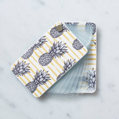 Card organizer tap and go pineapple