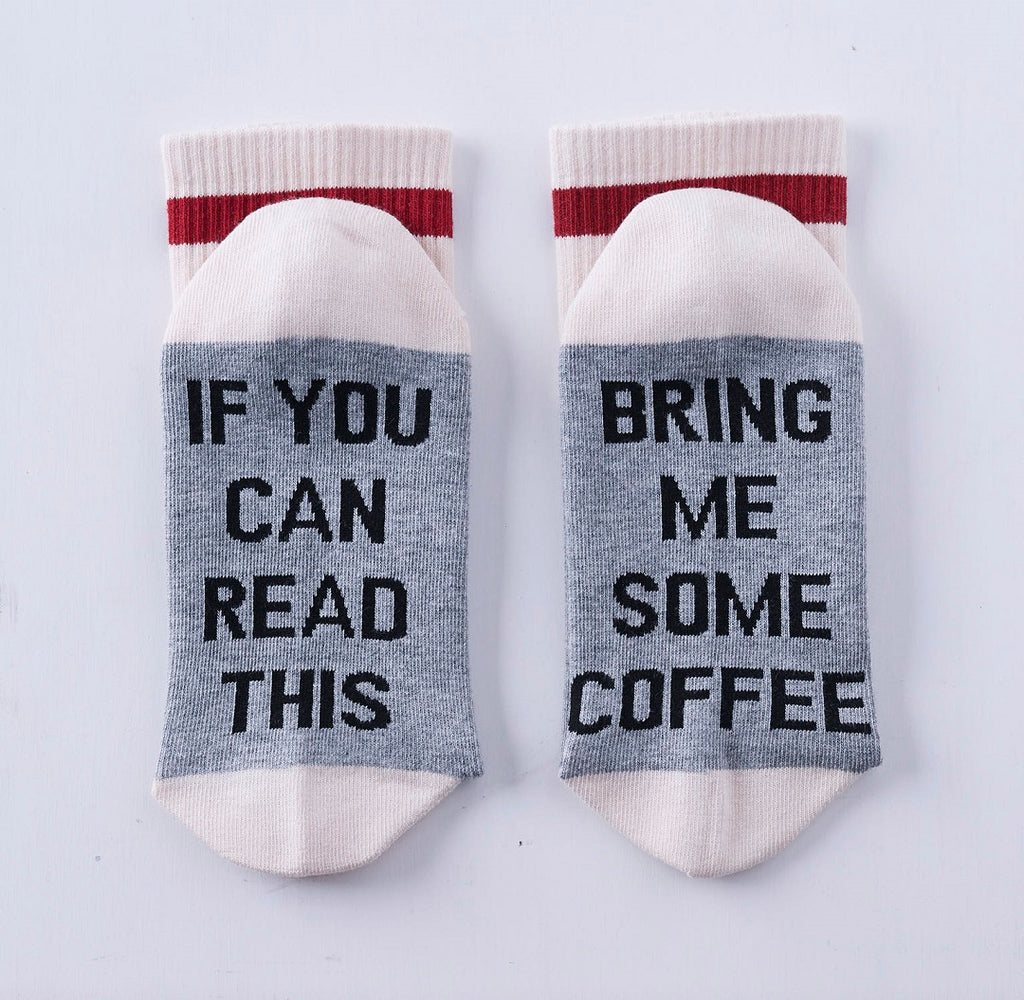 Bring me some coffee socks.