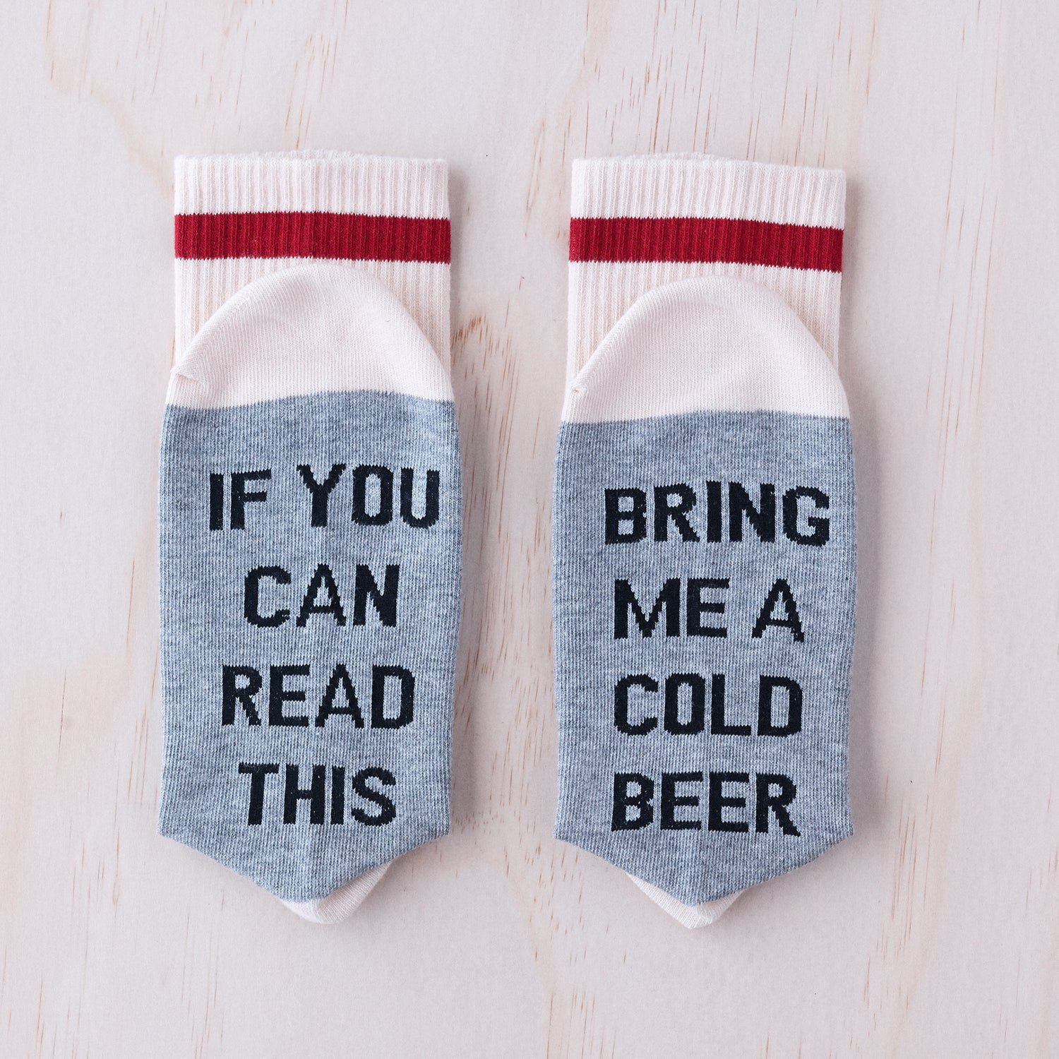 Bring me a cold beer socks.
