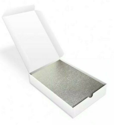 Pre Cut Hairdressing Foil with 2cm fold at top. 500 sheets per box.