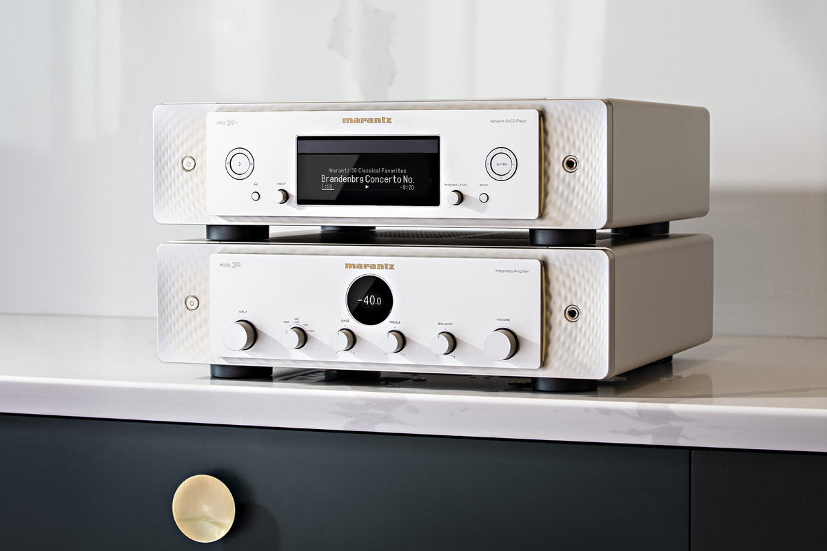 Marantz introduce the Model 30 Amplifier and SACD30n CD/Network Player
