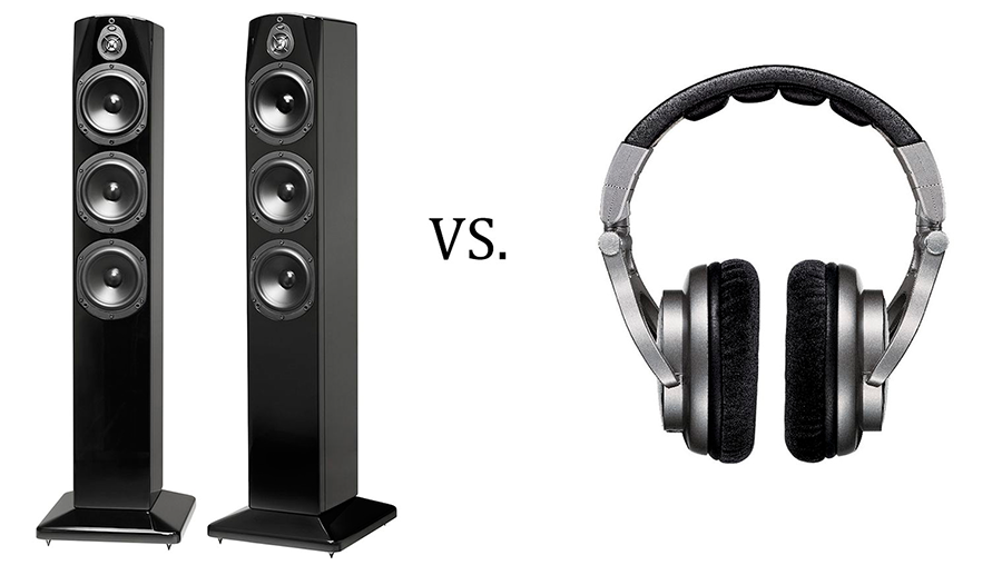 Are headphones better than speakers