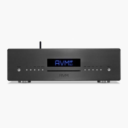 AVM MP 8.3 Streamer/DSD DAC/CD Player/Tube Line Stage