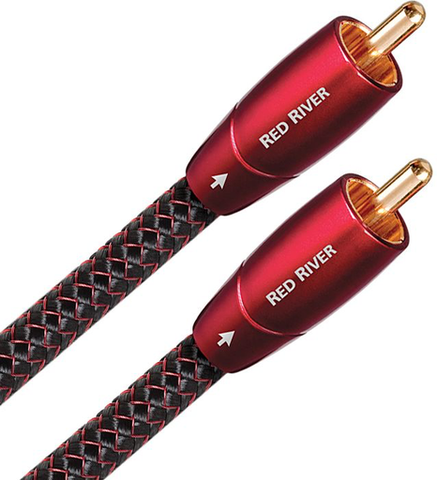 Audioquest Red River RCA Audio Interconnect Cables