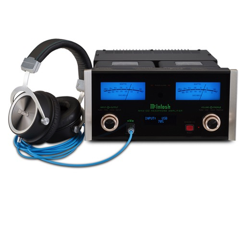Mcintosh MHA-150 Headphone Amplifier/DAC - Hi-Fi Centre