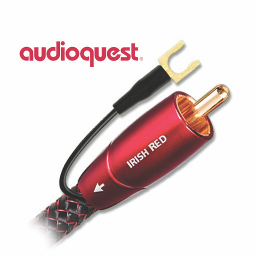 Audioquest Irish Red Subwoofer Cable - Hi-Fi Centre