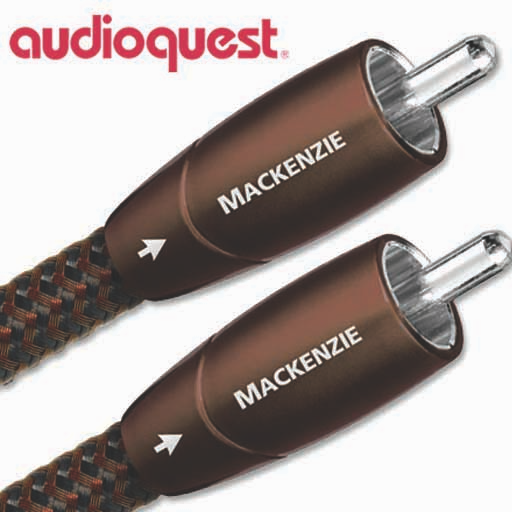 Audioquest Mackenzie RCA Interconnect Cable