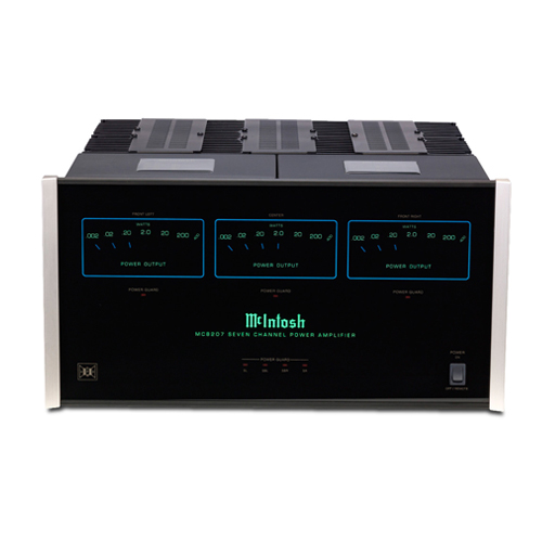 Mcintosh MC-8207 7 Channel Amplifier - Hi-Fi Centre