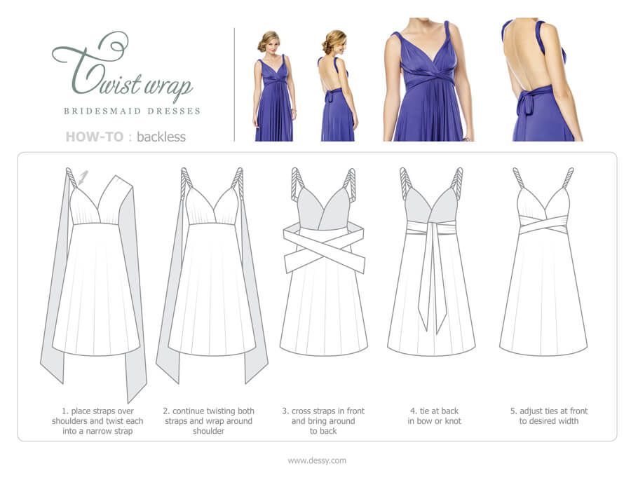 NZBridal Convertible bridesmaid dresses