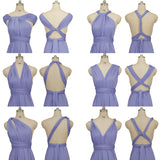 Blue Violet Universal Bridesmaid Dresses Endless Way Convertible Maxi Dress