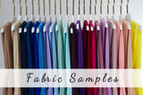Fabric Samples Classic Stretchy Infinity Dresses Swatches