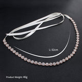 NZ Bridal Multi-way Hair Ornaments Waist Chain Belt Body Chain Ribbon Personality Wild Bridal Accessories