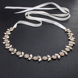 NZ Bridal Retro Diamond Waist Chain For Brides Rhinestone Belt Body Chain Bridal Accessories