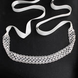 NZ Bridal Hand-studded Sashes Wedding Dress Jewelry Diamond Waist Chain Body Chain Bridal Accessories
