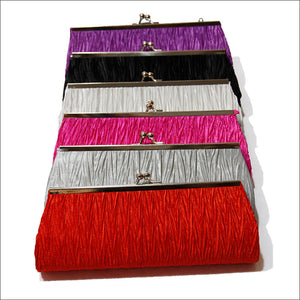 Trendy Satin Classic Handbag Clutch