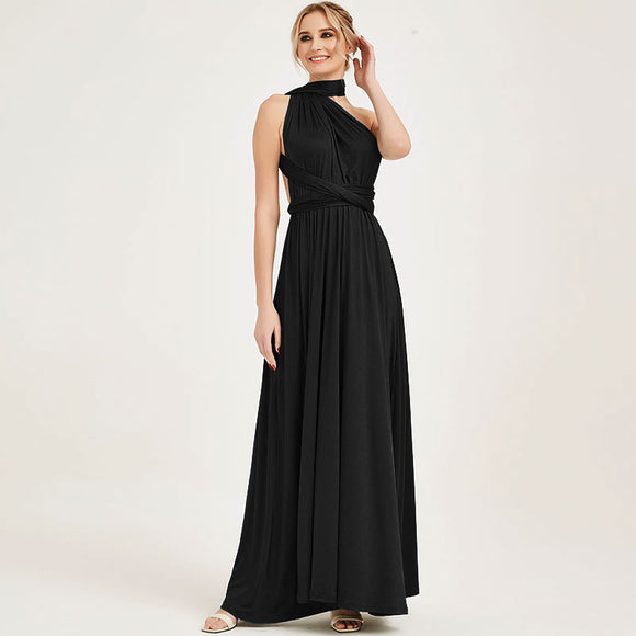 Black Infinity Convertible Beach Wedding Bridesmaid Dresses