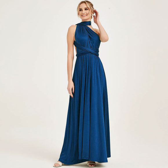 Prussion Endless Way Convertible Maxi Dress Bridesmaid Dresses