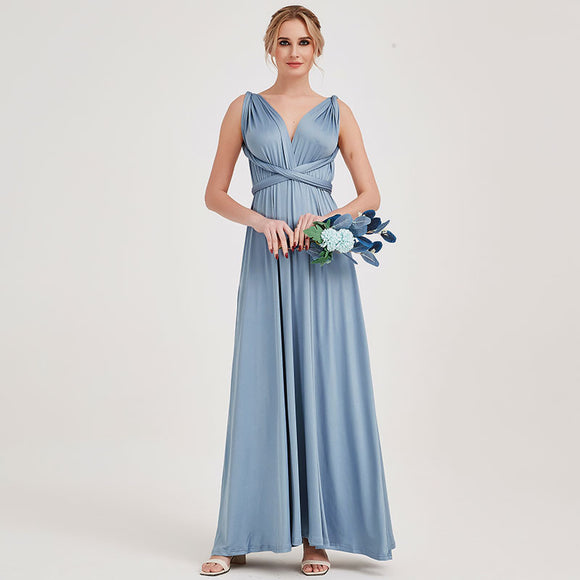 Pre Order Infinity Gown Slate Blue