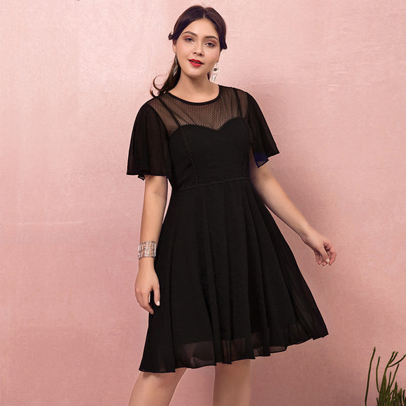 LBDs Plus Size Little Black Party Dresses