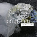 Vintage Head Lace Wedding Veil for Brides