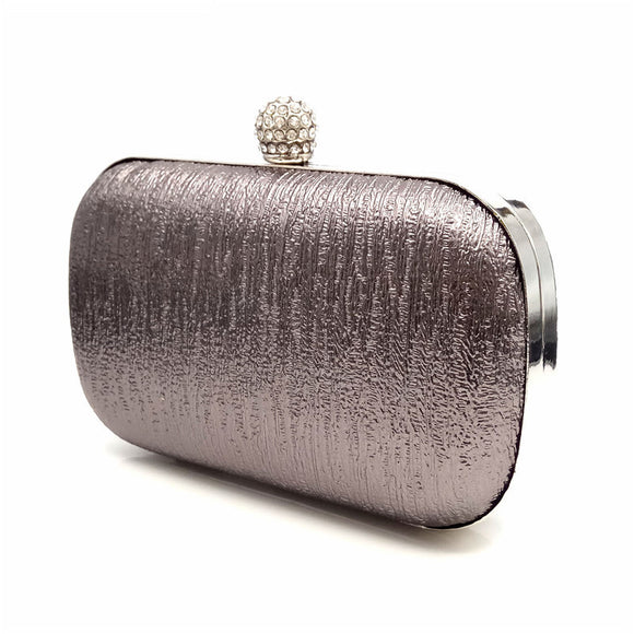 Excellent PU Evening Hand Clutches With Rhinestones