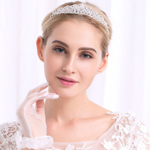 Attractive Wedding Tiaras Crown With Rhinestones