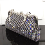 Stunning Evening Handbag Clutch with Rhinestone