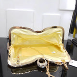 Fabulous Evening Handbag Clutch with Rhinestone