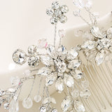 Wedding Hair Ornament Comb With Rhinestones
