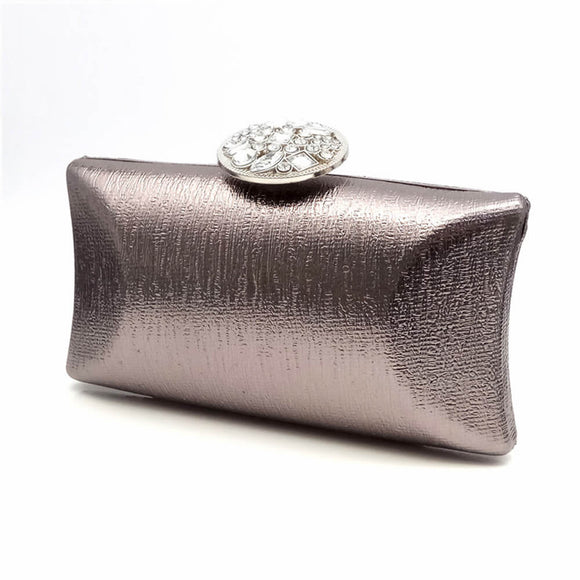 Morden Evening Handbag Clutch with Rhinestone