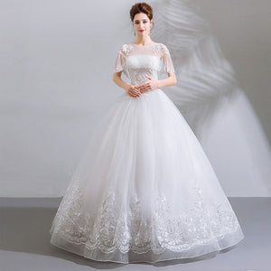 NZ Bridal Illusion Romantic Crystal Beading Embroidery Shawl With Sequin Bridal Dress