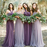 Multi Way Convertible Beach Wedding Bridesmaid Dresses Vacation Dress