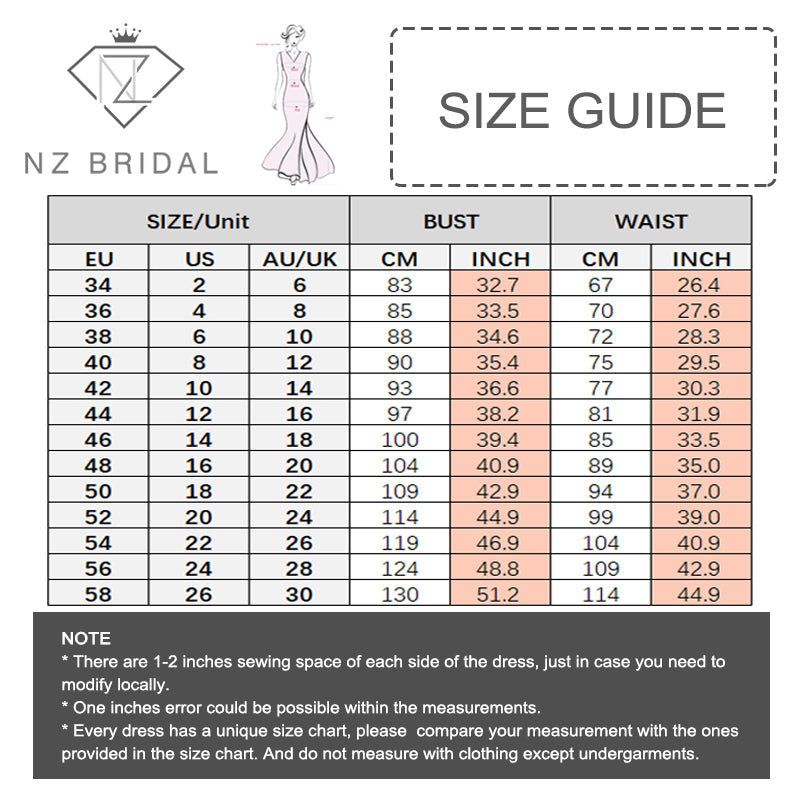 NZ Bridal Plus Size Sleeveless Long Mesh Pleated V-neck Chiffon Bridesmaid Dresses Evening Gown