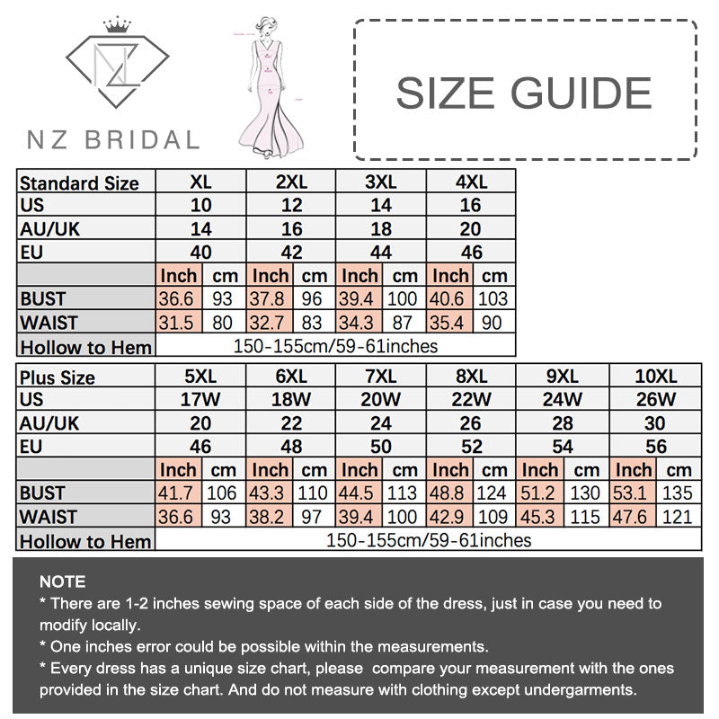 [Final Sale] Plus Size 3/4 Sleeve Fit And Flare Wedding Dress