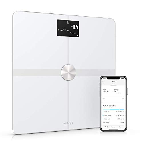 Smart Body Composition Wi-Fi Digital Scale with smartphone app from Withings