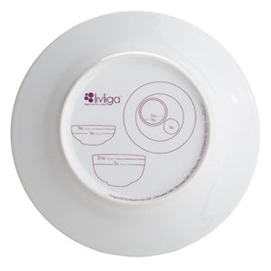 Bariatric Portion Control Plate & Bowl from Livliga