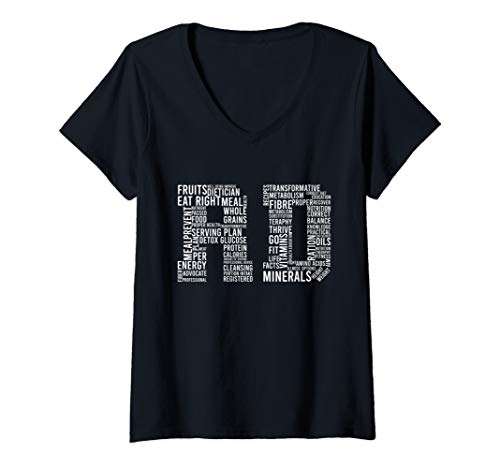 Registered Dietitian  V-Neck T-Shirt