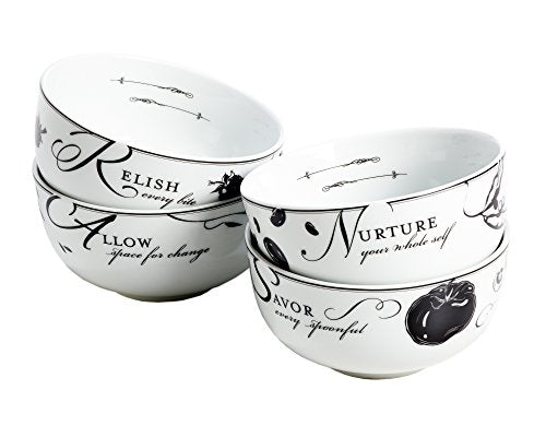 Celebrate Portion Control Soup Bowls, Set of 4