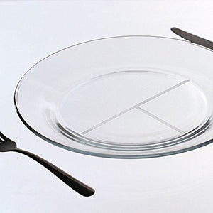 Portion Control Dinner Plate - Set of 2 from Meal-Trax