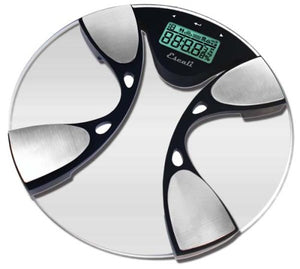 Glass Body Fat/Body Water Digital Bathroom Scale