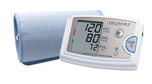 LifeSource Pro Blood Pressure Monitor with XL Cuff