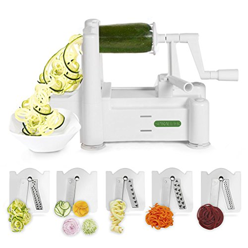 Spiralizer 5-Blade Vegetable Slicer