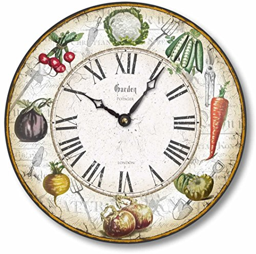 Vegetable Garden Clock
